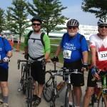 the Niagara-on-the-Lake Community Palliative Care Service team, the Pedal Pushers