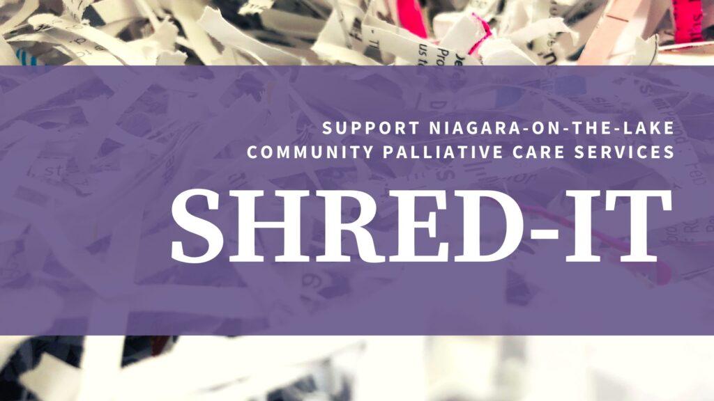 SHRED-IT Fundraiser 2021